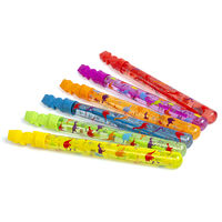 Dinosaur Bubble Wands: Pack of 6