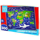 Landmarks of the World 300 Piece Jigsaw Puzzle image number 2