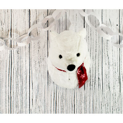 Rockin Polar Bear Singing Wall Ornament image number 3