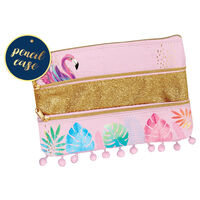 Tropical Layered Pencil Case