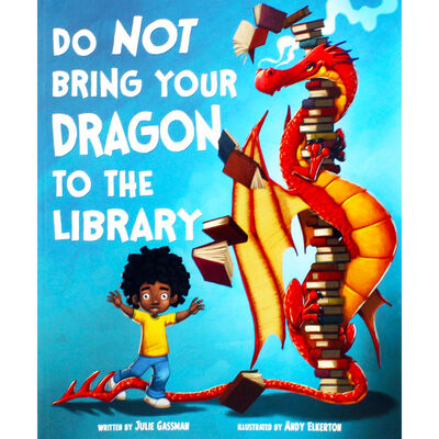 Do Not Bring Your Dragon To The Library image number 1