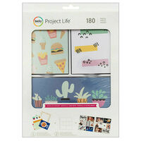 American Crafts: Project Life Wordless Wonder 180 Piece Card Kit