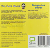 The Dare Game A Tracy Beaker Story: MP3 CD