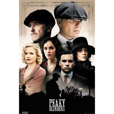 Peaky Blinders Cast Wall Poster image number 1