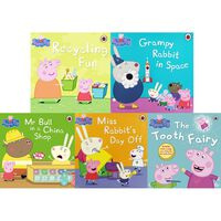 Peppa Pig's Amazing Adventures: 10 Kids Picture Books Bundle