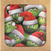 Sprouts Christmas Cards: Pack Of 10
