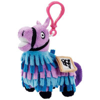 Fortnite Plush Llama Loot Keychain