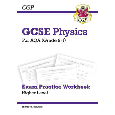 CGP GCSE Physics: AQA Exam Practice Workbook image number 1