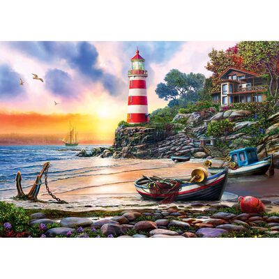 Sunset Light 500 Piece Jigsaw Puzzle image number 2