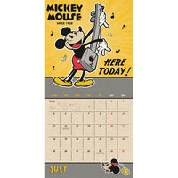 Disney Mickey Mouse 2022 Square Calendar