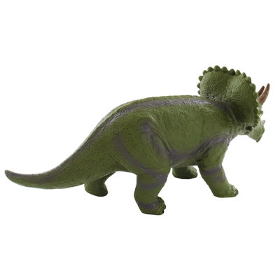 12 Inch Triceratops Soft Dinosaur Figure image number 2
