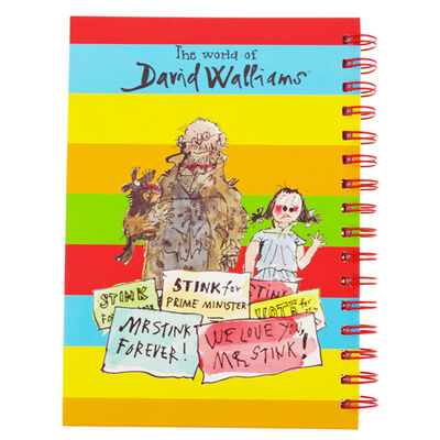 The World of David Walliams A5 Notebook and Writing Set image number 3