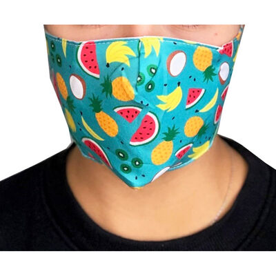 Tropical Reusable Face Covering image number 3