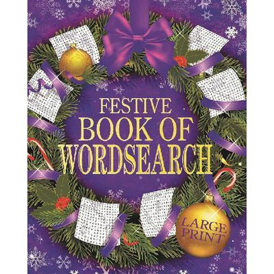 Festive Book of Wordsearch image number 1
