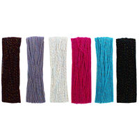 Colourful Flecked Yarn Bundle: Pack of 6