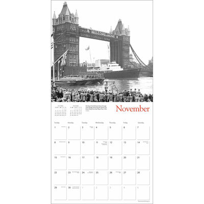 London Heritage 2020 Wall Calendar image number 2