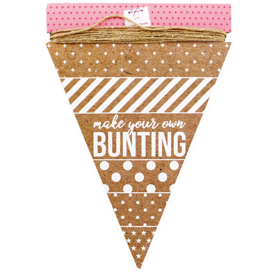 Make Your Own Bunting - Kraft image number 1