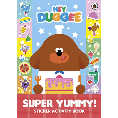 Hey Duggee: Super Yummy Sticker Activity Book image number 1