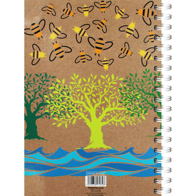 A4 Save The Bees Notebook image number 3