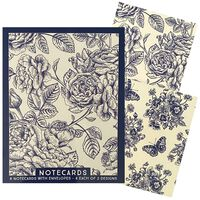 Assorted Traditional Notecards: Pack of 8