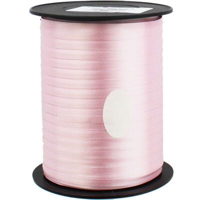 Pink Balloon Curling Ribbon - 500m x 5mm image number 1