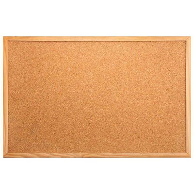 Cork Notice Board - 60cm x 40cm image number 1