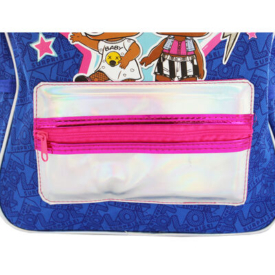 LOL Surprise Holographic Blue Backpack image number 3