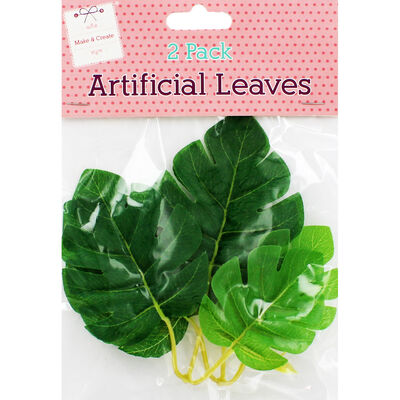 MC 2 Pack Artificial Leaves image number 1