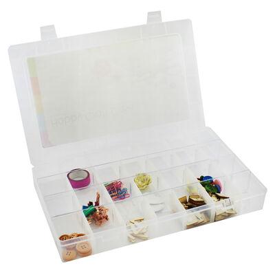 Large Plastic Craft Storage Case image number 4
