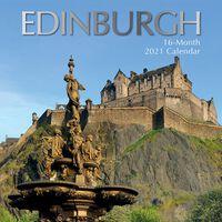 Edinburgh Square Calendar 2021