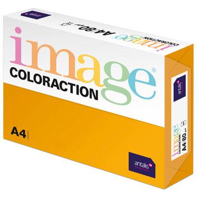 A4 Mid Orange Venezia Image Coloraction Copy Paper: 250 Sheets image number 1