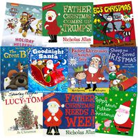 Father Christmas Fun: 10 Kids Picture Books Bundle