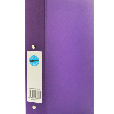 A4 Purple Ring Binder File image number 2