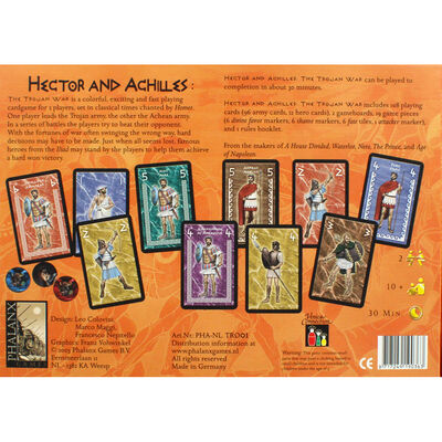 Hector and Achilles Strategy Card Game image number 4