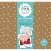 Simply Make - Glass Painting Flute Kit