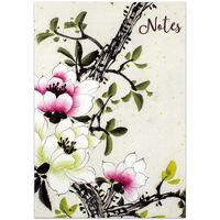 A5 Flexi Japanese Garden Lined Notebook