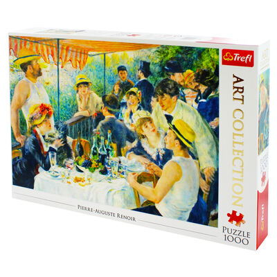 Luncheon of the Boating Party 1000 Piece Jigsaw Puzzle image number 3