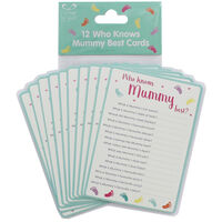12 Who Knows Mummy Best Cards