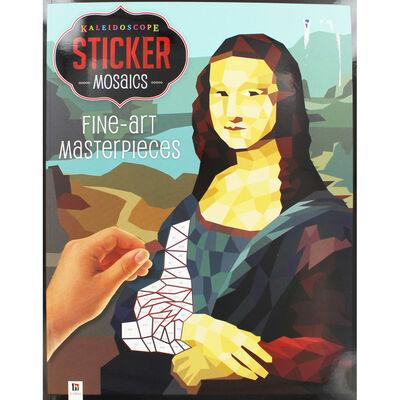 Kaleidoscope Sticker Mosaics: Fine Art Masterpieces image number 1