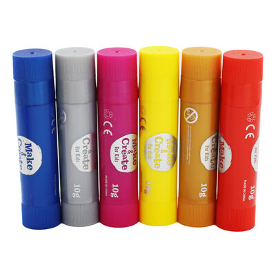 Metallic Poster Paint Sticks - 6 Pack image number 2