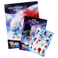 Trolls Colouring Play Pack