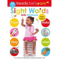Ready Set Learn: Sight Words Skills Workbook