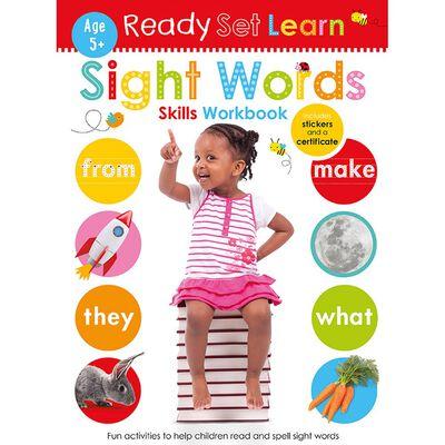 Ready Set Learn: Sight Words Skills Workbook image number 1