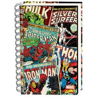 A5 Marvel Comics Lined Notebook