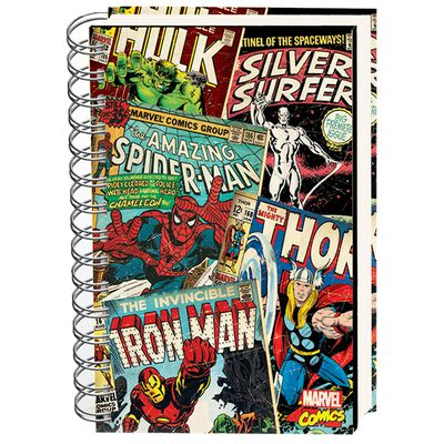 A5 Marvel Comics Lined Notebook image number 1