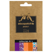 Decopatch Pocket Papers: Collection No. 7