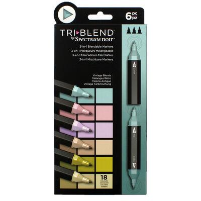 Spectrum Noir TriBlend - Vintage Blends - 6 Pack image number 1