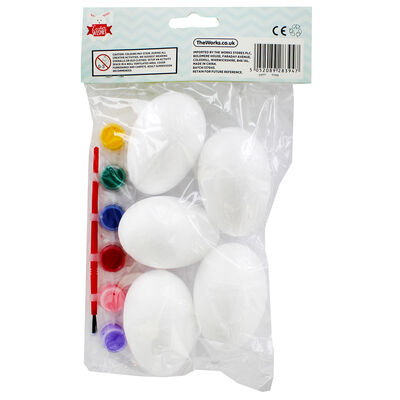 Easter Eggs and Paint Set - 5 Pack image number 3