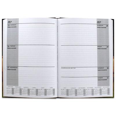 British Birds 2022 Square Calendar and Diary Set image number 3