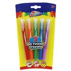 Gel Twister Crayons - 5 Pack image number 1